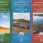 Foldery tras rowerowych Suwalskiego Parku Krajobrazowego