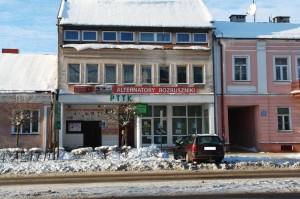 Budynek PTTK w Suwałkach.